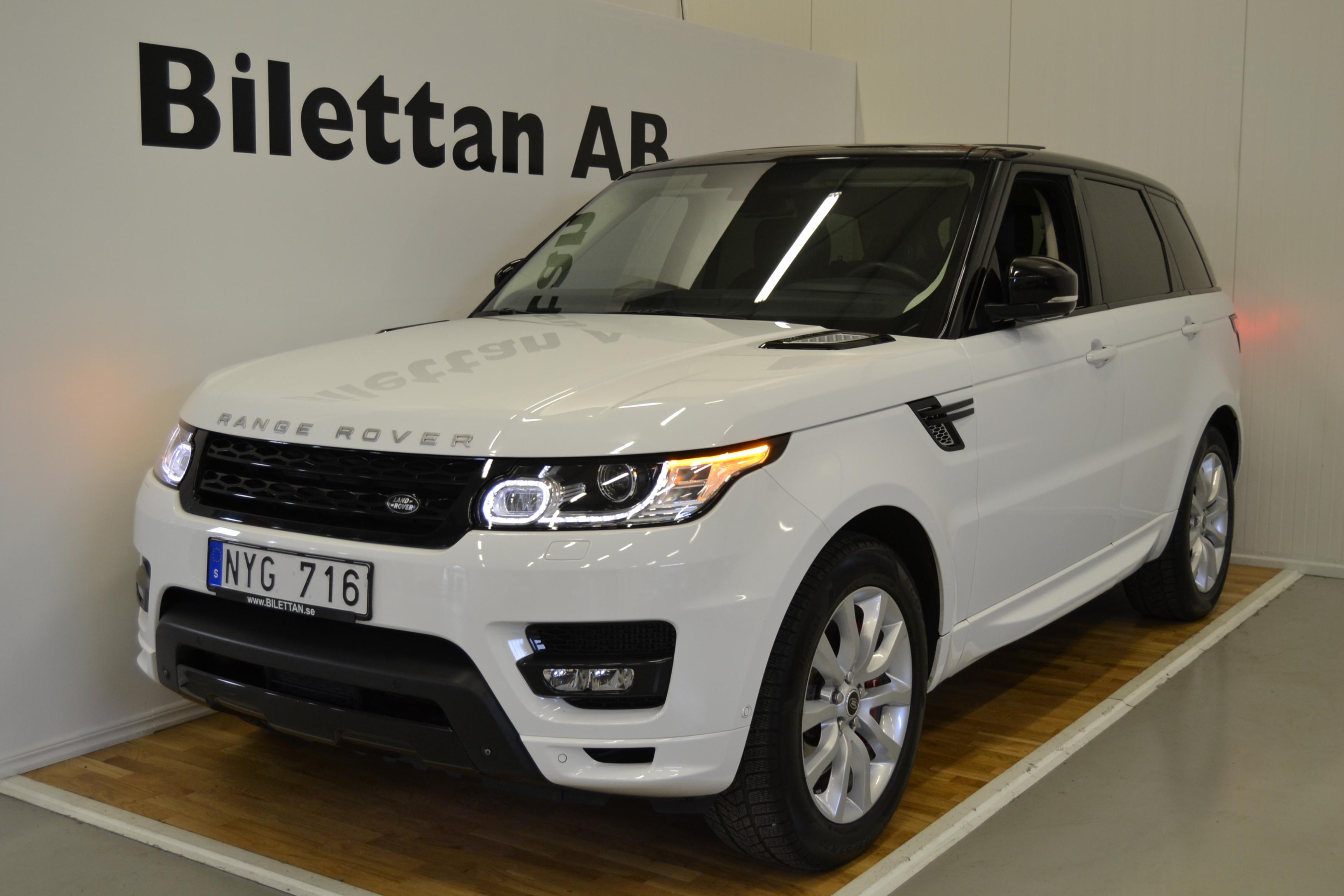 Range Rover Sport 3,0HSE Autibiography